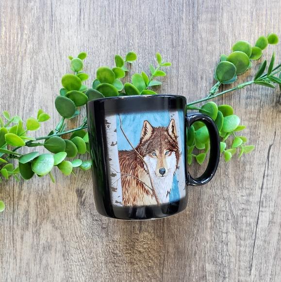 Lone Wolf Ceramic Mug